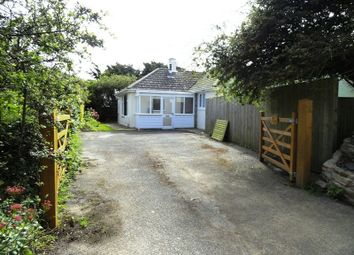 Thumbnail 3 bed bungalow to rent in Trevarrian, Newquay