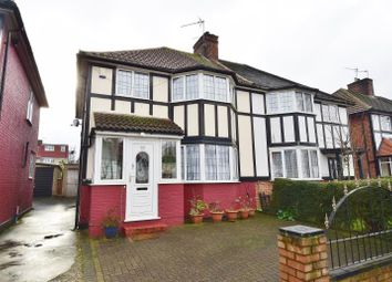 Thumbnail 3 bed semi-detached house for sale in Vivian Avenue, Wembley, Middlesex