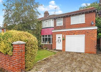 Thumbnail 5 bed semi-detached house for sale in Rochester Grove, Hazel Grove, Stockport