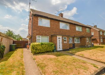 Thumbnail 2 bed maisonette for sale in Meadow Close, London Colney, St. Albans