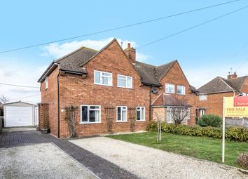 Thumbnail 3 bed semi-detached house for sale in Long Wittenham, Oxfordshire OX14,
