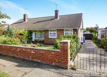 Thumbnail 3 bedroom semi-detached bungalow for sale in Cedar Drive, Lowestoft