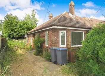 Thumbnail 3 bed detached bungalow for sale in Edmonton Road, Kesgrave, Ipswich