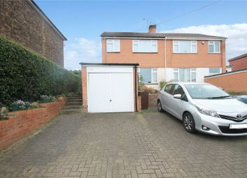 Thumbnail 3 bed semi-detached house for sale in Hermitage Road, Higham, Rochester, Kent