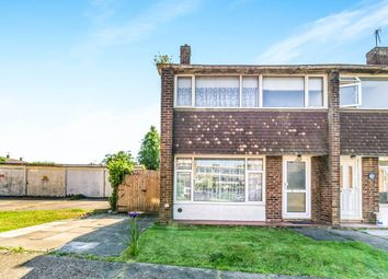 Thumbnail 3 bedroom end terrace house for sale in Rhodaus Close, Canterbury