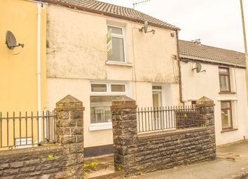 Thumbnail 2 bed terraced house to rent in Gelligaled, Ystrad