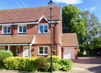 Thumbnail 3 bed semi-detached house to rent in Lowbury Gardens, Compton, Newbury