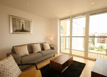 Thumbnail 1 bedroom flat to rent in Jubilee Court, 8 Wood Wharf, New Capital Quay, Greenwich, London