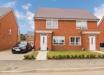Thumbnail 2 bed semi-detached house for sale in Bowyer Way, Morpeth