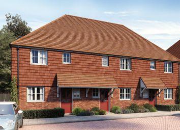 Thumbnail 2 bed terraced house for sale in Manton Crescent, Heartenoak Meadows, Heartenoak Road, Hawkhurst