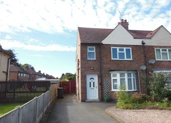 Thumbnail 3 bed semi-detached house to rent in Oak Crescent, Littleover, Derby