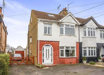 Thumbnail 5 bedroom semi-detached house for sale in Halfway Road, Minster On Sea, Sheerness