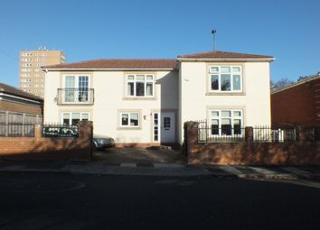 Thumbnail 4 bed detached house for sale in Moorside North, Newcastle Upon Tyne