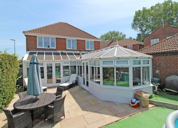 Thumbnail 4 bed detached house for sale in Marlborough Close, Eastbourne