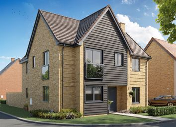 "Thumbnail 4 bed detached house for sale in ""The Greenwich"" at Southdown Close, Kingsnorth, Ashford"