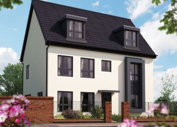 "Thumbnail 4 bedroom detached house for sale in ""The Warwick"" at Barrosa Way, Whitehouse, Milton Keynes"