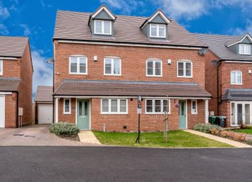 Thumbnail 4 bedroom semi-detached house for sale in Harvest Grove, Bloxwich, Walsall