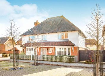 Thumbnail 5 bed detached house for sale in Plover Road, Hawkinge, Kent