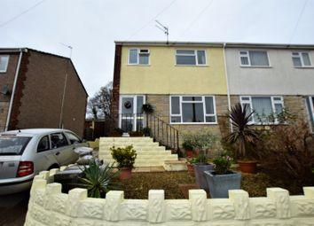 Thumbnail 3 bed semi-detached house for sale in Marlborough Close, Llantwit Fardre, Pontypridd