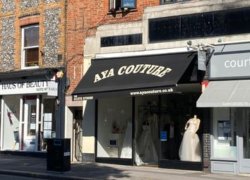Retail premises to let in High St, Esher KT10
