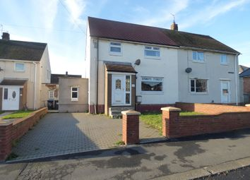 Thumbnail 3 bed semi-detached house for sale in Tate Avenue, Kelloe, Durham