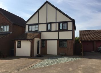 Thumbnail 4 bed detached house for sale in Jennings Close, Potton