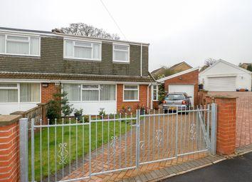 Thumbnail 3 bed semi-detached house for sale in Salisbury Close, Heolgerrig, Merthyr Tydfil