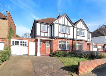 Thumbnail 4 bed semi-detached house for sale in Harford Drive, Watford