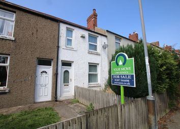 Thumbnail 2 bed terraced house for sale in Hollings Terrace, Chopwell, Newcastle Upon Tyne