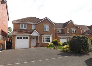 Thumbnail 4 bed detached house for sale in Wateredge Close, Leigh, Greater Manchester