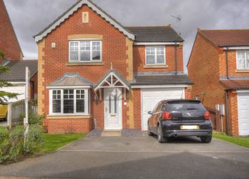 Thumbnail 4 bed detached house for sale in Newark Close, Bedlington