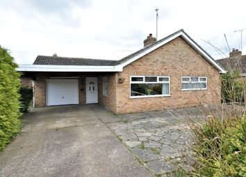 Thumbnail 3 bed detached bungalow for sale in Hazel Close, West Winch, King's Lynn