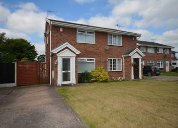 Thumbnail 2 bedroom semi-detached house for sale in Parkstone Drive, Crewe
