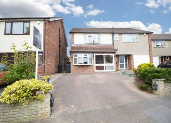 Thumbnail 3 bed semi-detached house for sale in River Way, Loughton