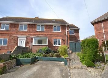 Thumbnail 4 bed semi-detached house for sale in Down Close, Weymouth