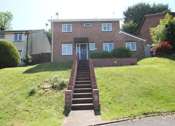 Thumbnail 4 bed detached house for sale in Brecon Close, Plymouth