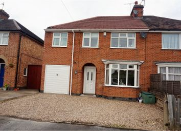Thumbnail 4 bed semi-detached house for sale in Westleigh Road, Leicester