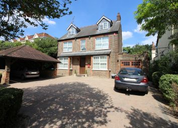 Thumbnail 5 bed detached house for sale in Tolmers Road, Cuffley