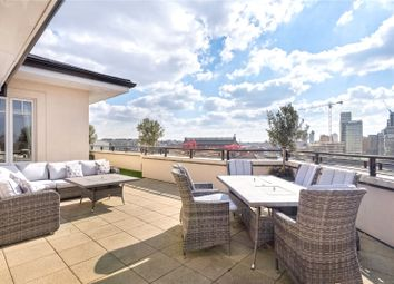 Thumbnail 3 bed flat for sale in Higham House West, 102 Carnwath Road, Fulham, London