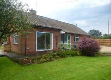 Thumbnail 3 bed detached bungalow for sale in Santon, Chard Common, Chard