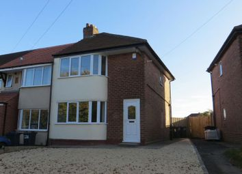 Thumbnail 2 bed semi-detached house to rent in Groveley Lane, Longbridge, Northfield, Birmingham