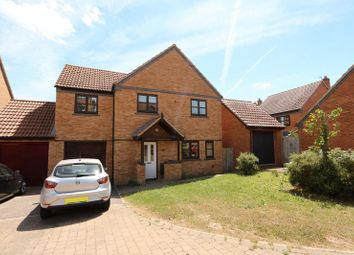 Thumbnail 4 bedroom detached house for sale in Gainsborough Close, Grange Farm, Milton Keynes