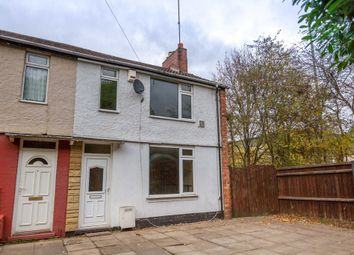 Thumbnail 2 bedroom end terrace house for sale in Burlington Road, Coventry