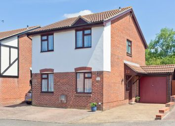 Thumbnail 3 bed detached house for sale in Lillywhite Close, Burgess Hill