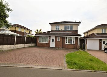 Thumbnail 3 bed detached house for sale in Minster Close, Dukinfield