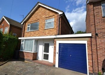 Thumbnail 3 bed detached house to rent in Woodcroft Avenue, West Knighton, Leicester