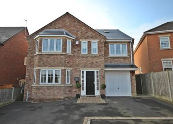 Thumbnail 5 bed detached house for sale in Field View Close, Westwood