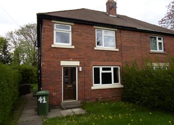 Thumbnail 3 bed semi-detached house to rent in Newstead Avenue, Outwood, Wakefield
