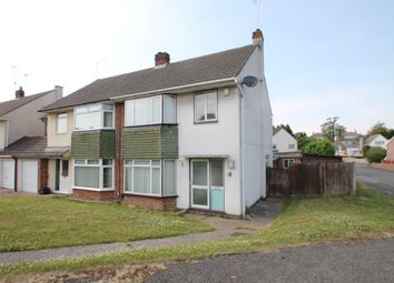 Thumbnail 3 bed semi-detached house to rent in Clivedale Road, Woodley, Reading