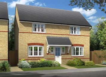 "Thumbnail 3 bed link-detached house for sale in ""Dartmouth"" at Bearscroft Lane, London Road, Godmanchester, Huntingdon"